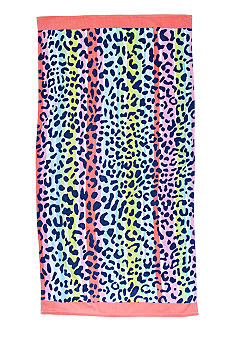 Home Accents Fruity Leopard Beach Towel