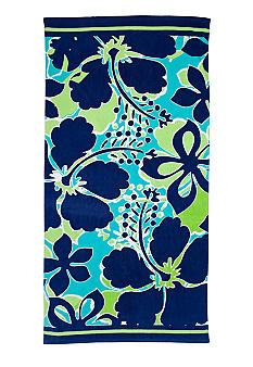 Home Accents Hibiscus Fever Beach Towel