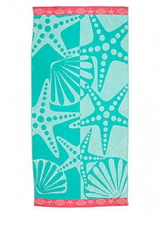 Home Accents Star and Clams Beach Towel