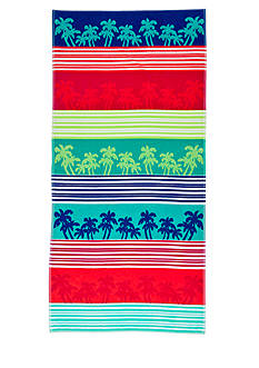 Home Accents Linear Palm Beach Towel