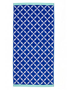 Home Accents Lattice Love Beach Towel