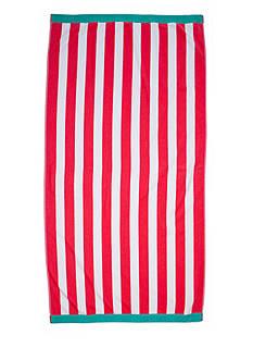Home Accents Stripe Saver Beach Towel