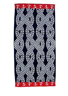 Home Accents Roped In Beach Towel