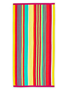 Home Accents Candy Stripe Beach Towel