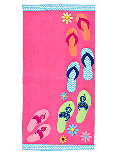 Home Accents Flops Ashore Beach Towel