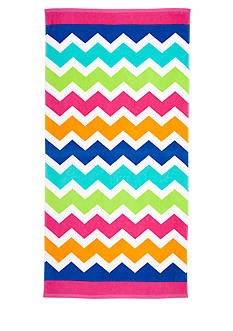 Home Accents Ombre Chevron Beach Towel