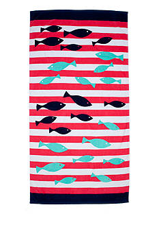 Home Accents Fish Friends Beach Towel