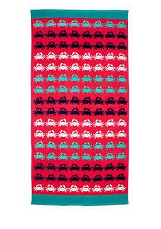 Home Accents Crab Walk Beach Towel