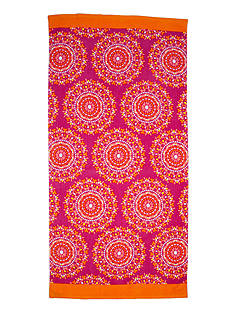 Home Accents Summer Medallion Beach Towel