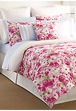 Rose Cottage King Comforter Set 96-in. x 110-in. with King Shams 20-in. x 36-in.