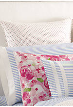 Rose Cottage Polka Dot Euro Sham 26-in. x 26-in.