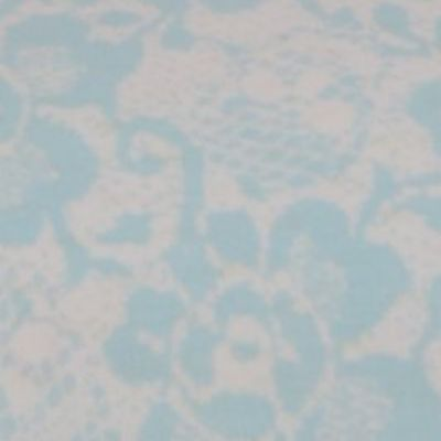 Betsey Johnson: Turquoise Betsey Johnson BETSEY'S BOUDOIR FULL SHEET SET DS
