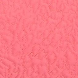 Betsey Johnson: Pink Betsey Johnson PUNK PRINCESS ANIMAL QUILTED PINK EURO SHAM DS