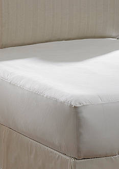 AllerEase Hot Water Washable Allergy Protection King Mattress Pad