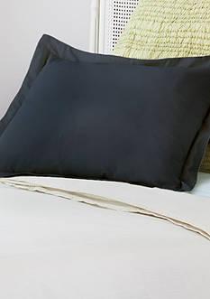 AllerEase Decorative Allergy Pillow Shams King Black 2pk