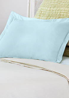 AllerEase Decorative Allergy Pillow Shams Blue 2pk