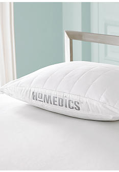 HoMedics Quilted 300 Thread Count Superside Gussett Pillow Twin Pack - Online Only