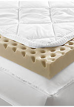 Total Body Comfort King Mattress Topper 76-in. x 80-in. x 3-in.