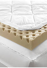 Total Body Comfort Queen Mattress Topper 60-in. x 80-in. x 3-in.