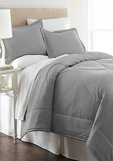Shavel Micro Flannel Greystone King Comforter Set