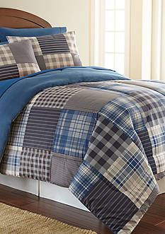 Shavel MICRO FLANNEL SMOKEY MT. PLAID KING CSET