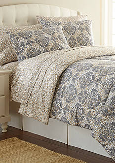 Shavel MICRO FLANNEL LEOPARD DAMASK TWIN CSET