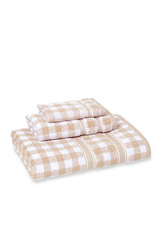 MaryJane's Home MJ GINGHAM 3 PC TOWE