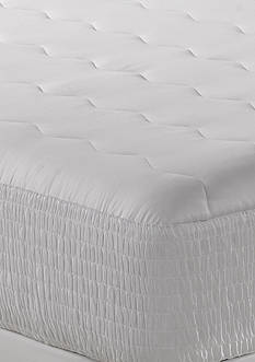 Home Accents® Supreme 100% Egyptian Cotton Top Mattress Pad