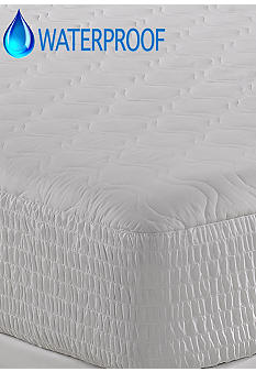 Home Accents Waterproof 100% Cotton Top Mattress Pad