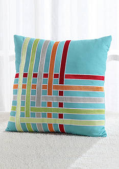 Fiesta FIESTA KYLA DEC PLW100 % Cotton Decorative Pillow 20 inch square