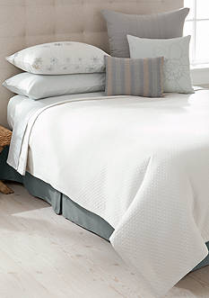 Calvin Klein Palermo Oval Bands King Coverlet