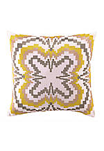 Ikat Graduated Print Decorative Pillow 18-in. x 18-in.