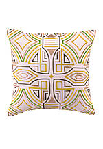 Ikat Geometric Print Decorative Pillow 20-in. x 20-in.