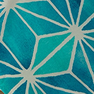 Bed & Bath: Casual Sale: Turquoise Trina Turk KIMONO QUEEN DUVET MINI SET