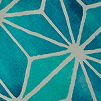 Casual Bedding: Turquoise Trina Turk KIMONO KING DUVET MINI SET