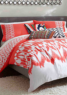Trina Turk HOLLYHOCK IKAT KING DUVET MINI SET