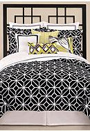 Trina Turk Trellis Black & White Bedding Collection