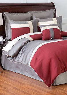 Home Accents Classics Metro 7-Piece King Bedding Collection
