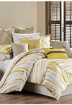 Echo Design Abstract Palm Bedding Collection - Online Only