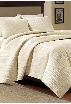 Harbor House Dumont Ivory Coverlet Collection