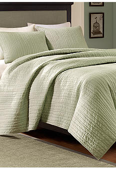 Harbor House Dumont Sage Coverlet Collection