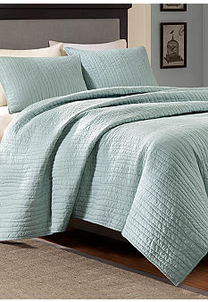 Harbor House Dumont Cloud Blue Coverlet Collection