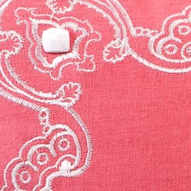 Designer Bedding: Hot Pink Echo Design™ GRAM PSLY BFAST