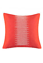 Mayan Geo Yam Embroidered Decorative Pillow 18-in. x 18-in.
