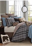 Woolrich Hadley Plaid Bedding Collection