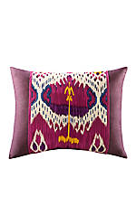 Chapan Fuschia Multi Standard King Sham 20-in. x 36-in.