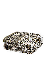 Silk Road White/Black Multi Queen Duvet 92-in. x 96-in.