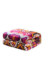Chapan Fuschia Multi King Duvet 110-in. x 96-in.