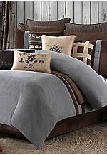 Brownstone Grey Euro Sham 26-in. x 26-in.