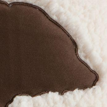 Casual Bedding: Ivory Woolrich HADLEY BERBER PLLW